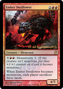 Ember Swallower (Theros Prerelease)