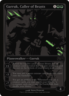 Garruk, Caller of Beasts (SDCC 2013)