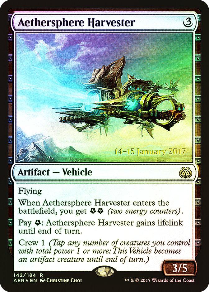 Aethersphere Harvester (Aether Revolt Prerelease)