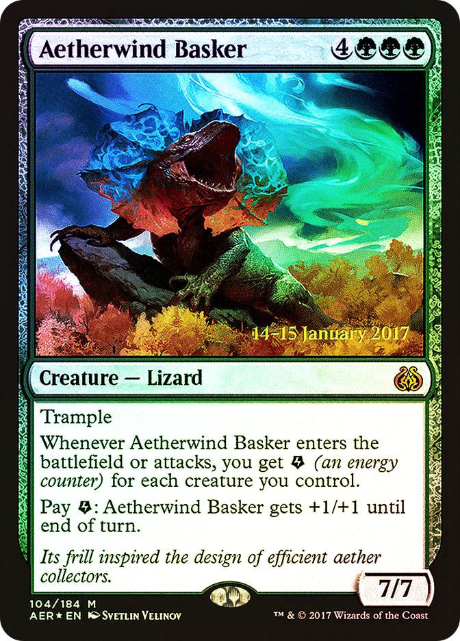 Aetherwind Basker (Aether Revolt Prerelease)