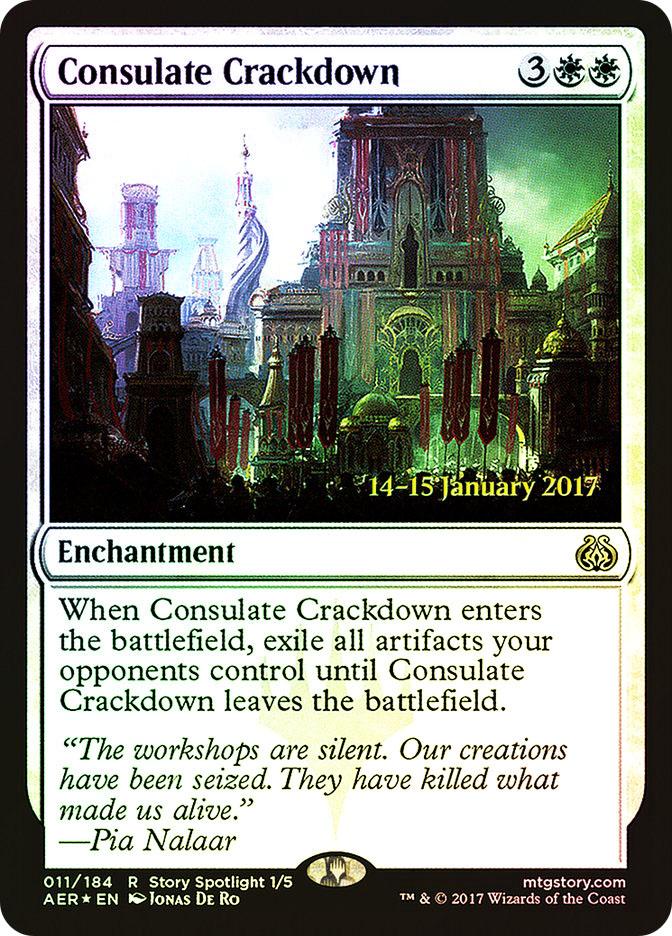 Consulate Crackdown (Aether Revolt Prerelease)