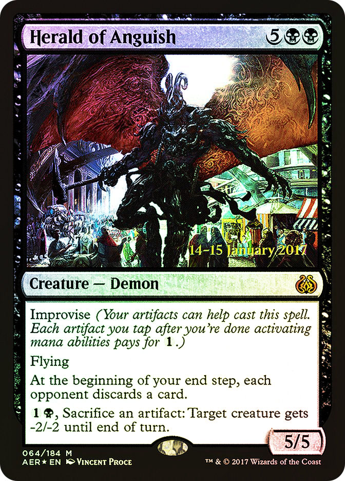 Herald of Anguish (Aether Revolt Prerelease)