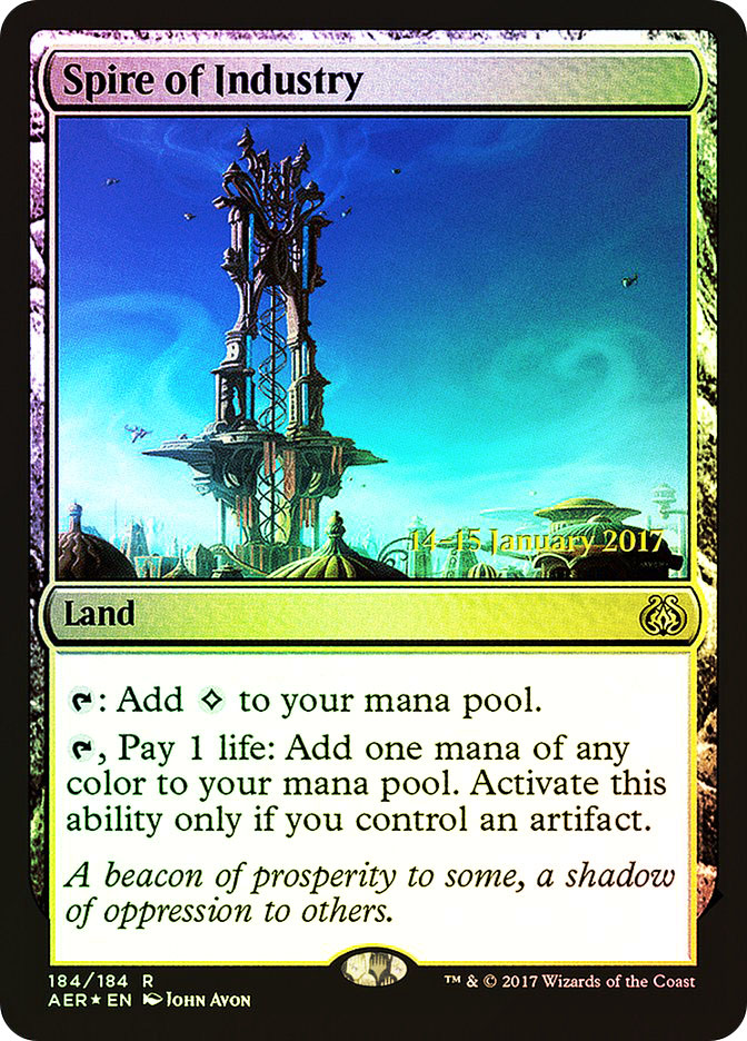 Spire of Industry (Aether Revolt Prerelease)