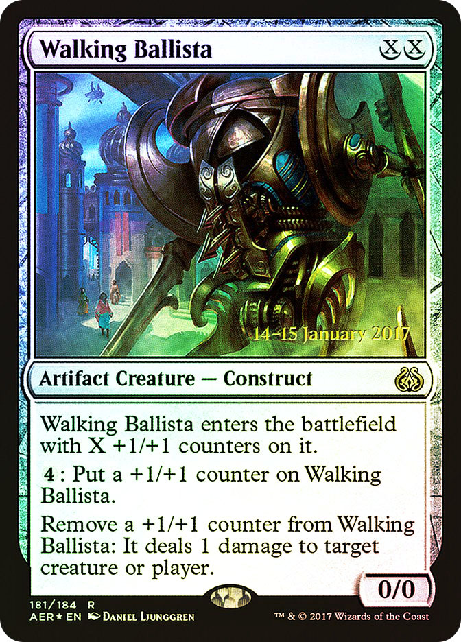 Walking Ballista (Aether Revolt Prerelease)