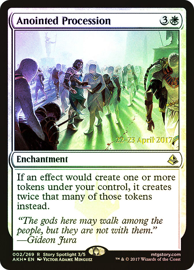 Anointed Procession (Amonkhet Prerelease)