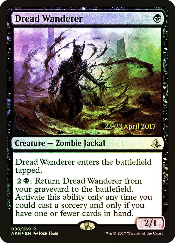 Dread Wanderer (Amonkhet Prerelease)