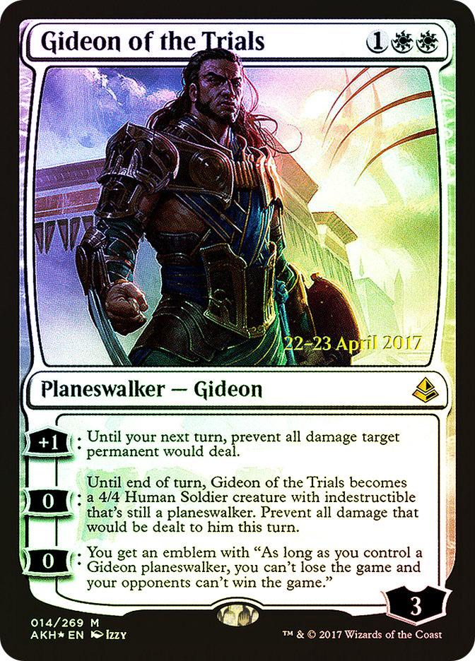 Gideon of the Trials (Amonkhet Prerelease)