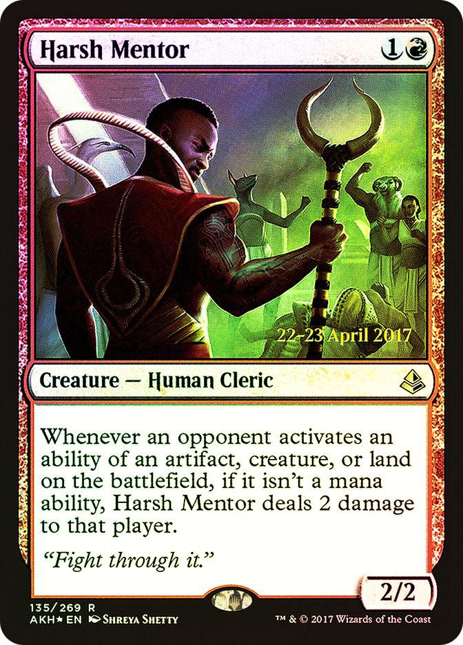 Harsh Mentor (Amonkhet Prerelease)