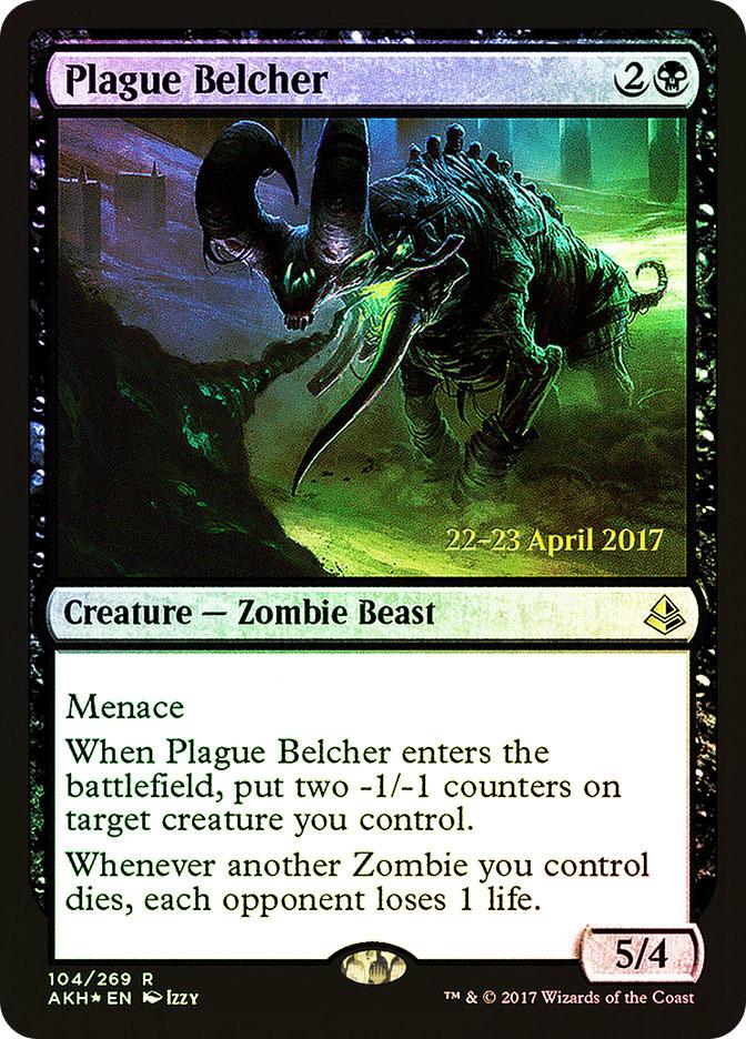 Plague Belcher (Amonkhet Prerelease)