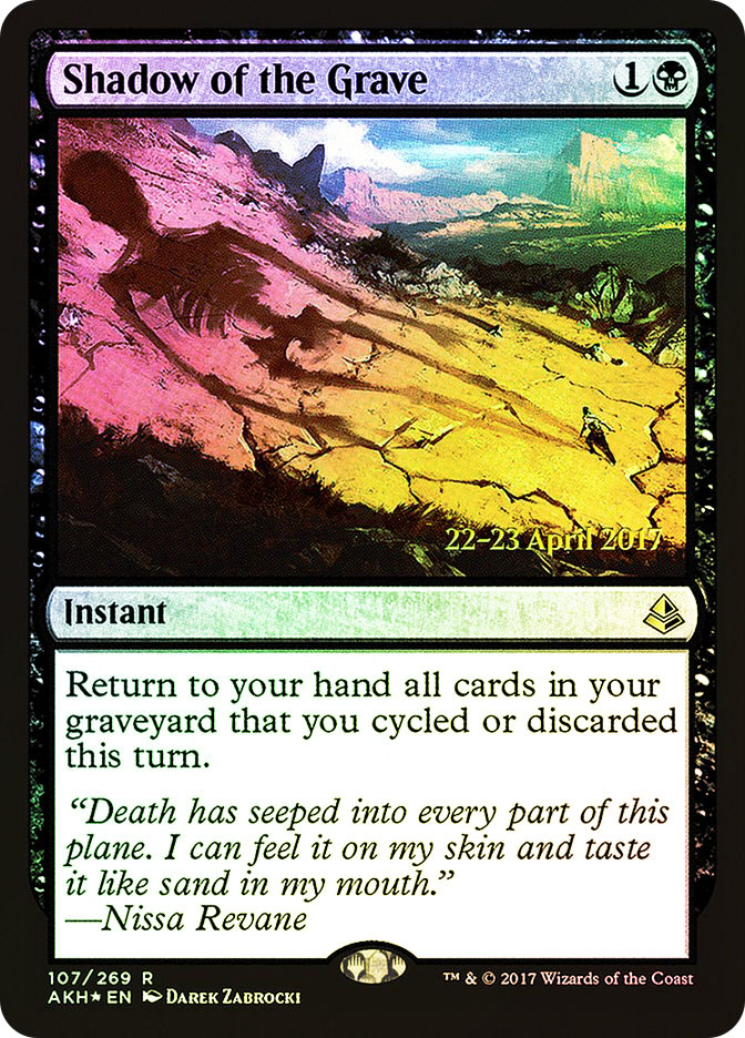Shadow of the Grave (Amonkhet Prerelease)
