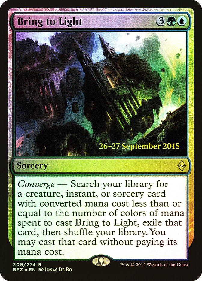 Bring to Light (Battle for Zendikar Prerelease)