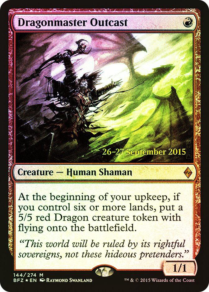 Dragonmaster Outcast (Battle for Zendikar Prerelease)