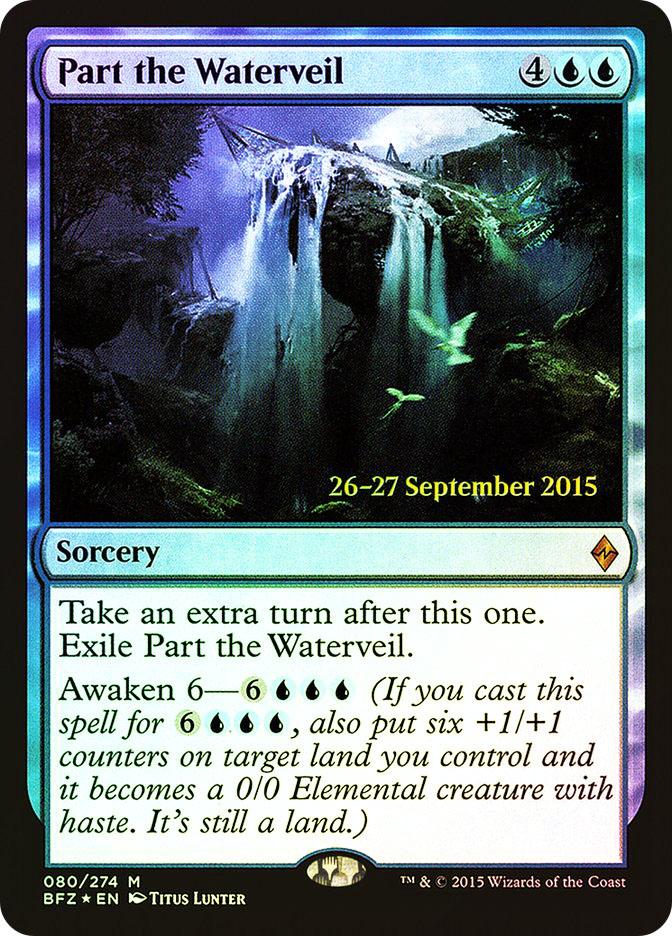 Part the Waterveil (Battle for Zendikar Prerelease)