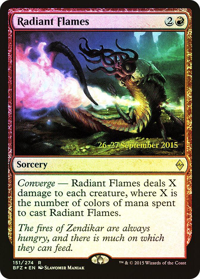 Radiant Flames (Battle for Zendikar Prerelease)