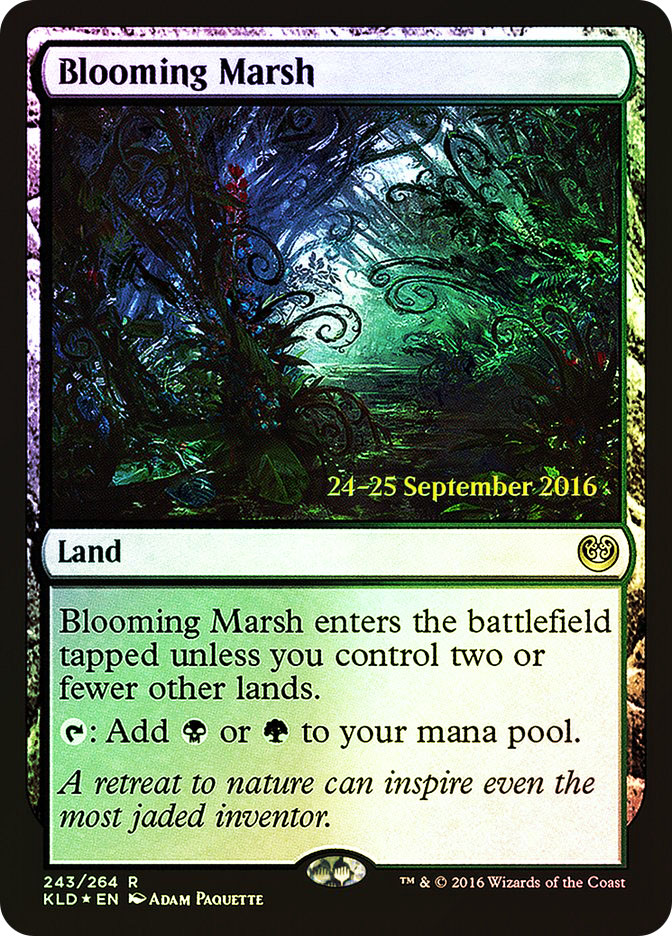 Blooming Marsh (Kaladesh Prerelease)