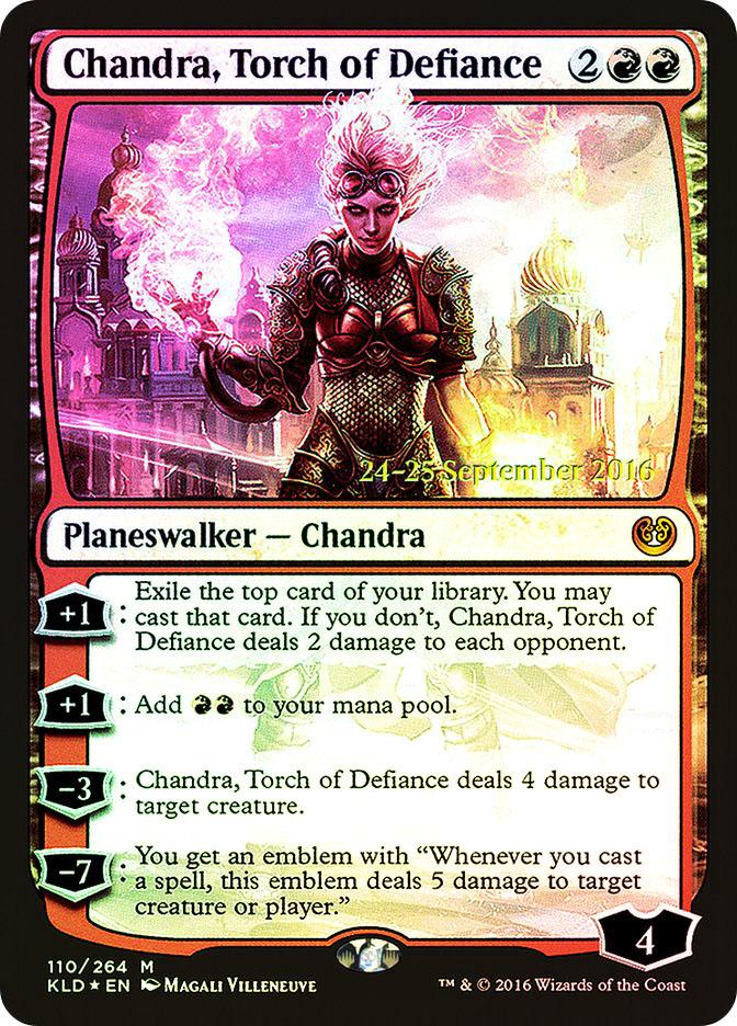 Chandra, Torch of Defiance (Kaladesh Prerelease)