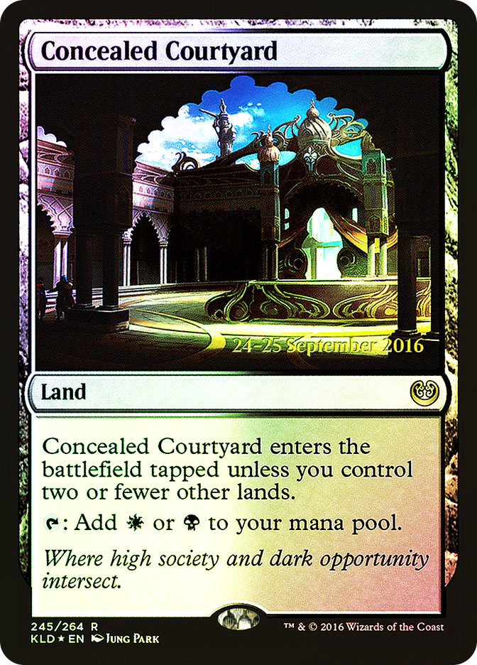Concealed Courtyard (Kaladesh Prerelease)