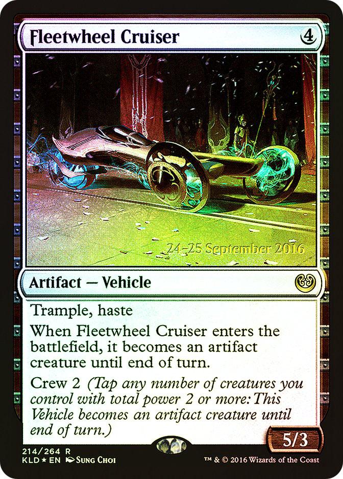 Fleetwheel Cruiser (Kaladesh Prerelease)