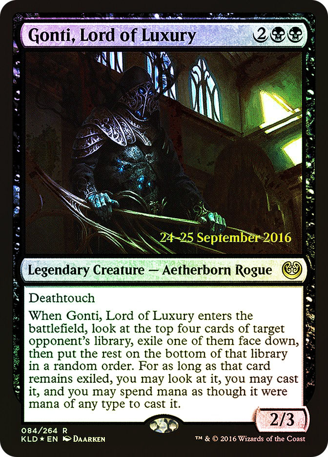 Gonti, Lord of Luxury (Kaladesh Prerelease)