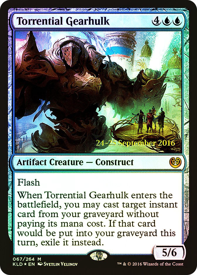 Torrential Gearhulk (Kaladesh Prerelease)
