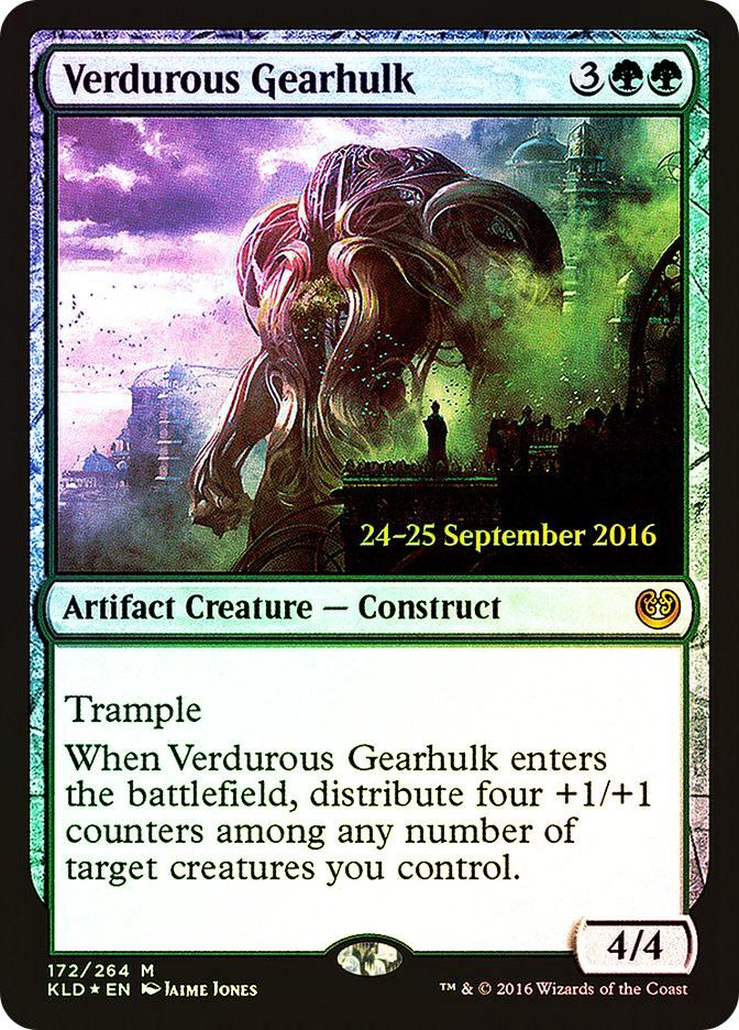 Verdurous Gearhulk (Kaladesh Prerelease)