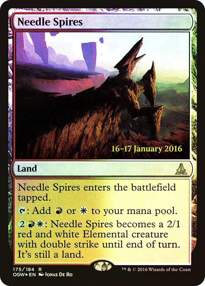 Needle Spires (Oath of the Gatewatch Prerelease)