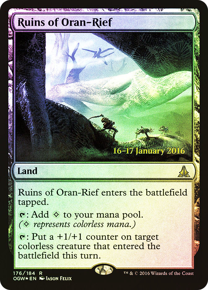 Ruins of Oran-Rief (Oath of the Gatewatch Prerelease)