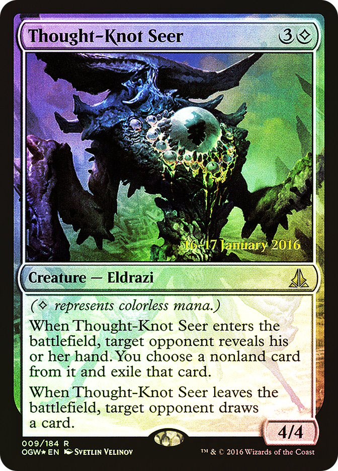 Thought-Knot Seer (Oath of the Gatewatch Prerelease)