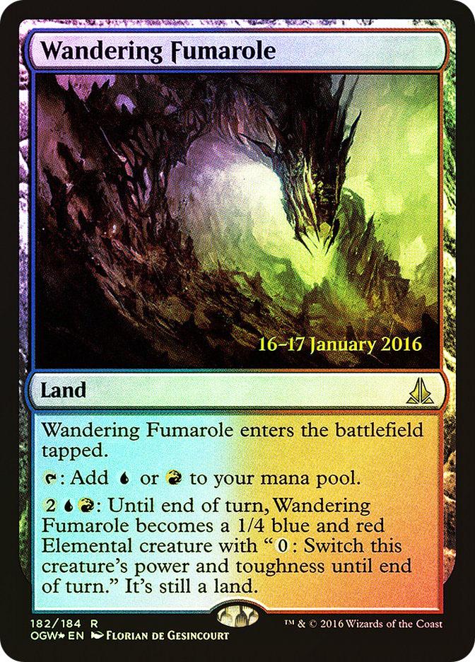 Wandering Fumarole (Oath of the Gatewatch Prerelease)