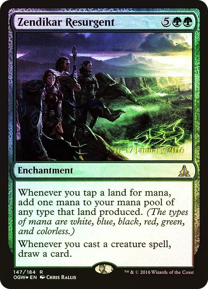 Zendikar Resurgent (Oath of the Gatewatch Prerelease)