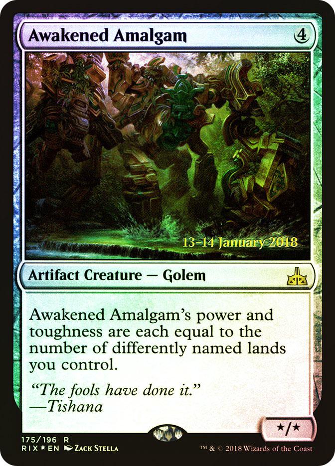 Awakened Amalgam (Rivals of Ixalan Prerelease)