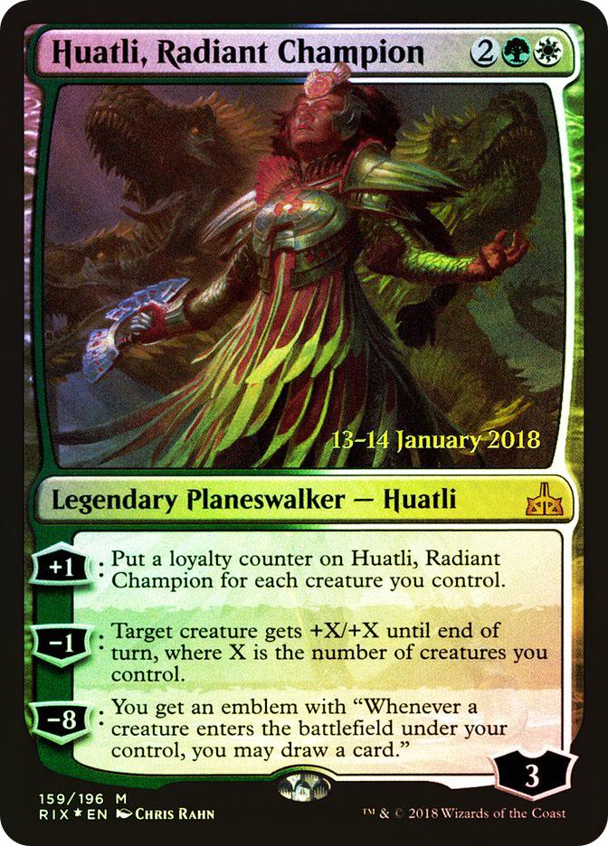 Huatli, Radiant Champion
