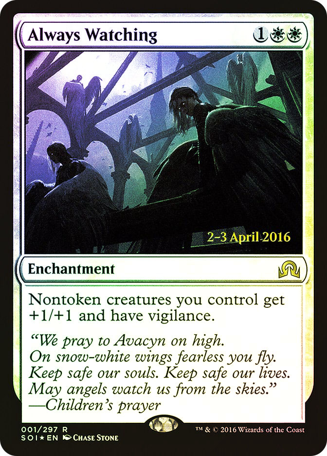 Always Watching (Shadows over Innistrad Prerelease)