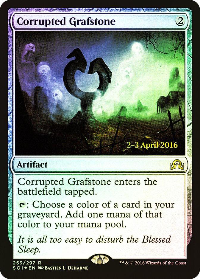 Corrupted Grafstone (Shadows over Innistrad Prerelease)