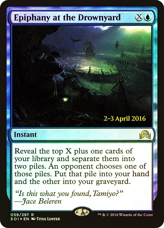 Epiphany at the Drownyard (Shadows over Innistrad Prerelease)