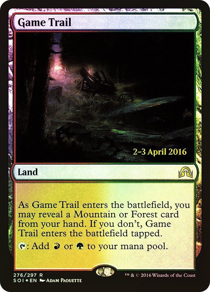 Game Trail (Shadows over Innistrad Prerelease)