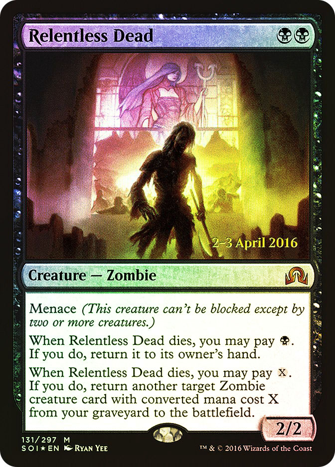 Relentless Dead (Shadows over Innistrad Prerelease)