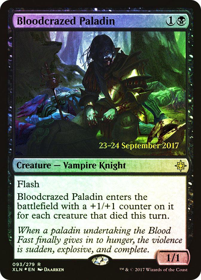 Bloodcrazed Paladin (Ixalan Prerelease)