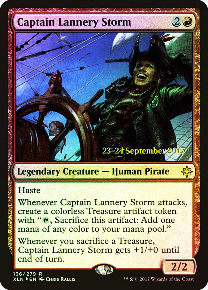 Captain Lannery Storm (Ixalan Prerelease)
