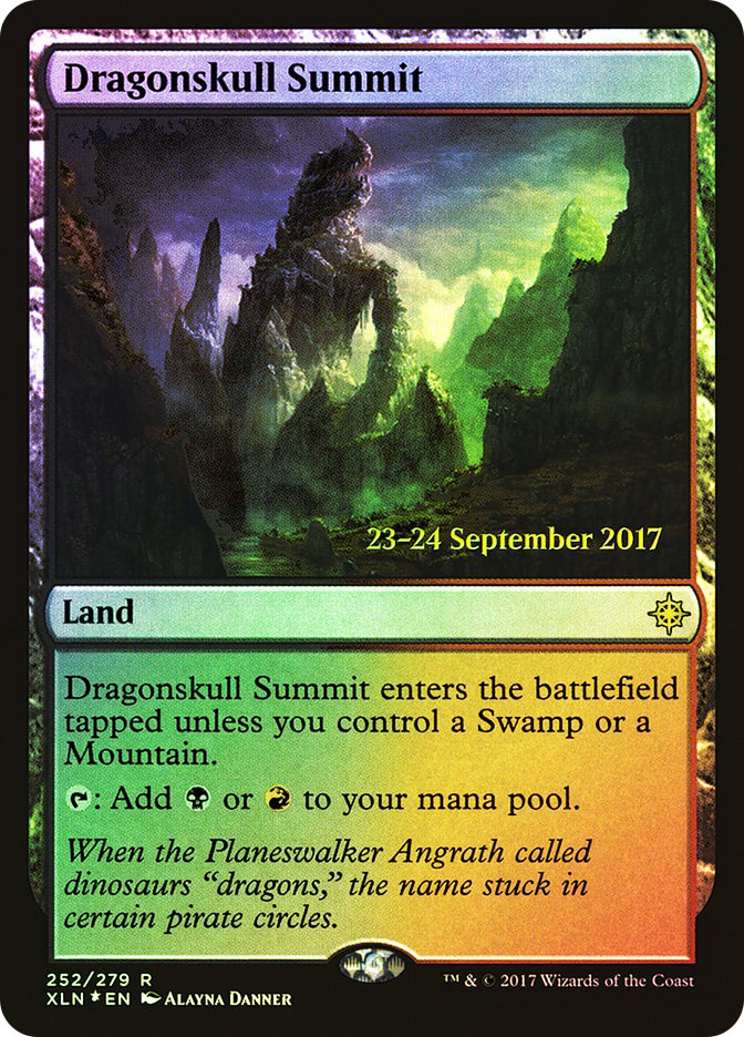 Dragonskull Summit (Ixalan Prerelease)