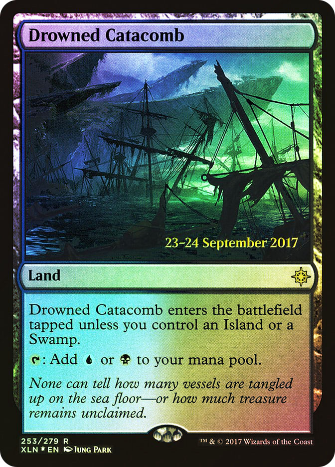 Drowned Catacomb (Ixalan Prerelease)