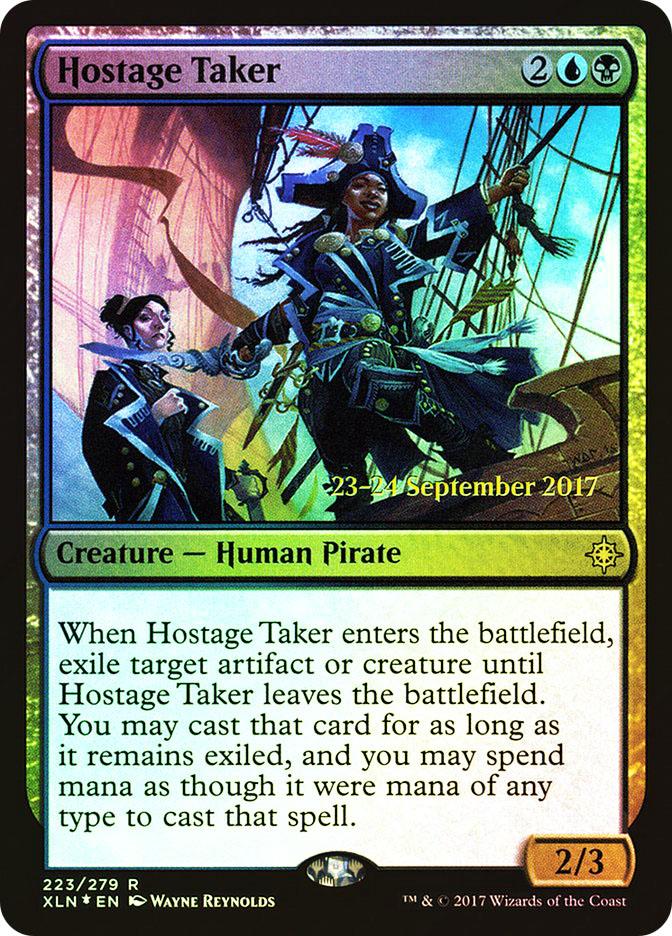 Hostage Taker (Ixalan Prerelease)