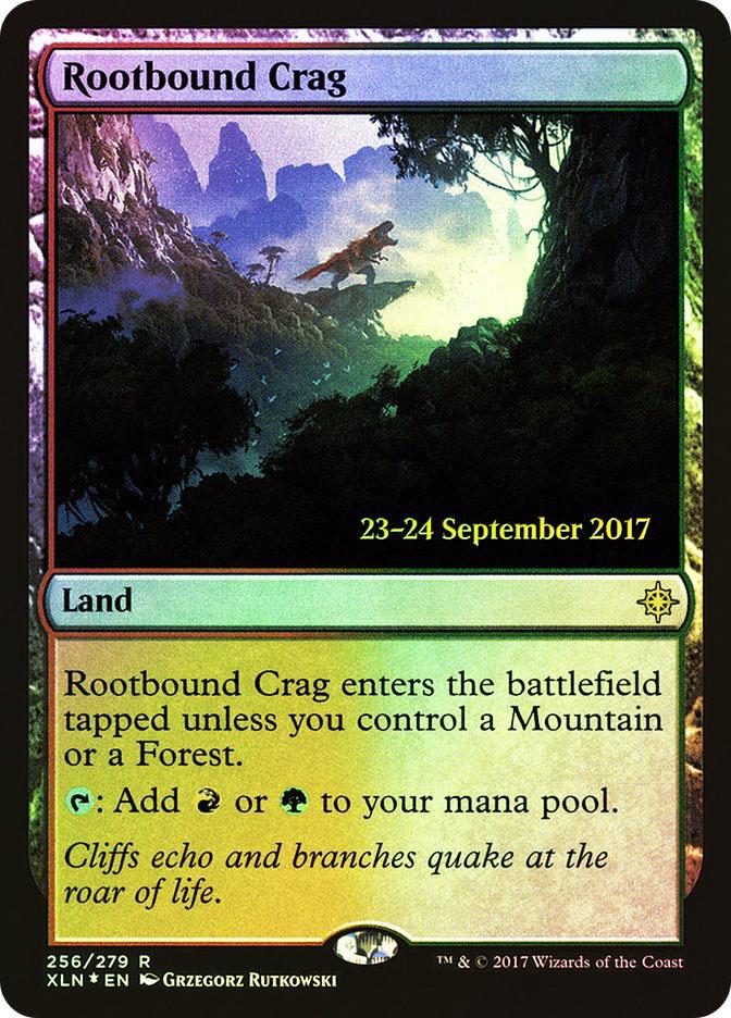 Rootbound Crag (Ixalan Prerelease)