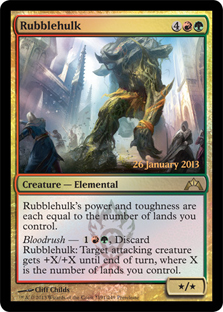 Rubblehulk (Gatecrash Prerelease)