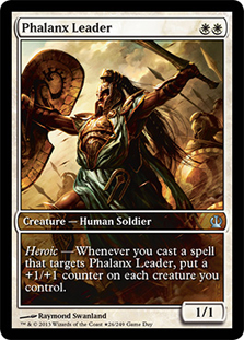 Phalanx Leader (Theros Game Day) (Full-Art)