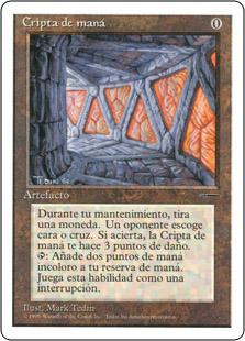 Mana Crypt (Book Insert) (Promo)