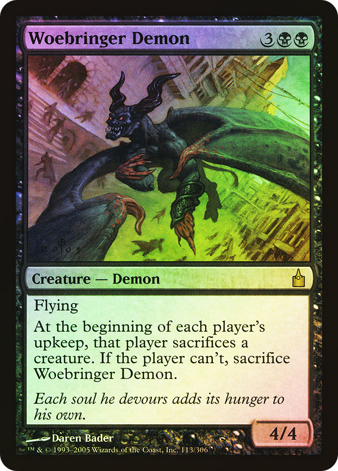 Woebringer Demon