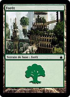 Forest (#304) (Ravnica)