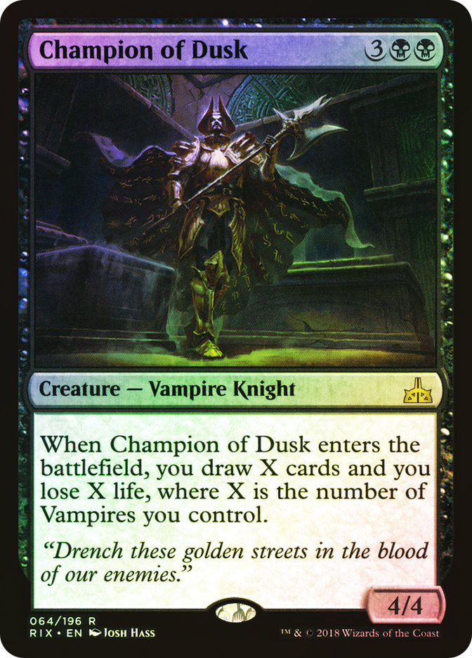 Champion of Dusk