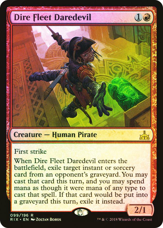 Dire Fleet Daredevil (Pre-Order: Ships Jan 19)
